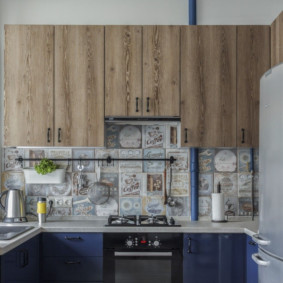 comment cacher un tuyau de gaz dans une conception de cuisine