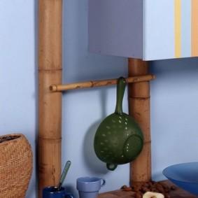 comment cacher un tuyau de gaz dans la conception de photos de cuisine