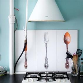 comment cacher un tuyau de gaz dans la cuisine photo