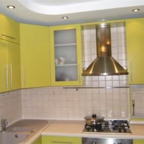 comment cacher un tuyau de gaz dans les types de décoration de la cuisine