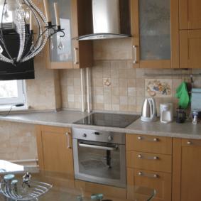 comment cacher un tuyau de gaz dans les types de conception de cuisine