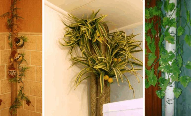 comment décorer un tuyau de gaz dans la cuisine