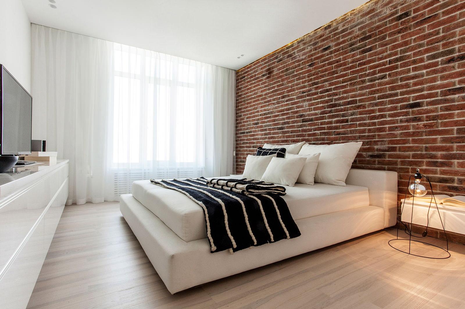 maçonnerie dans la conception des appartements