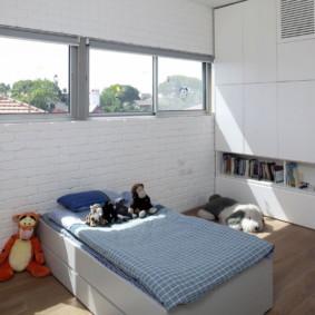 maçonnerie dans l'appartement photo espèces