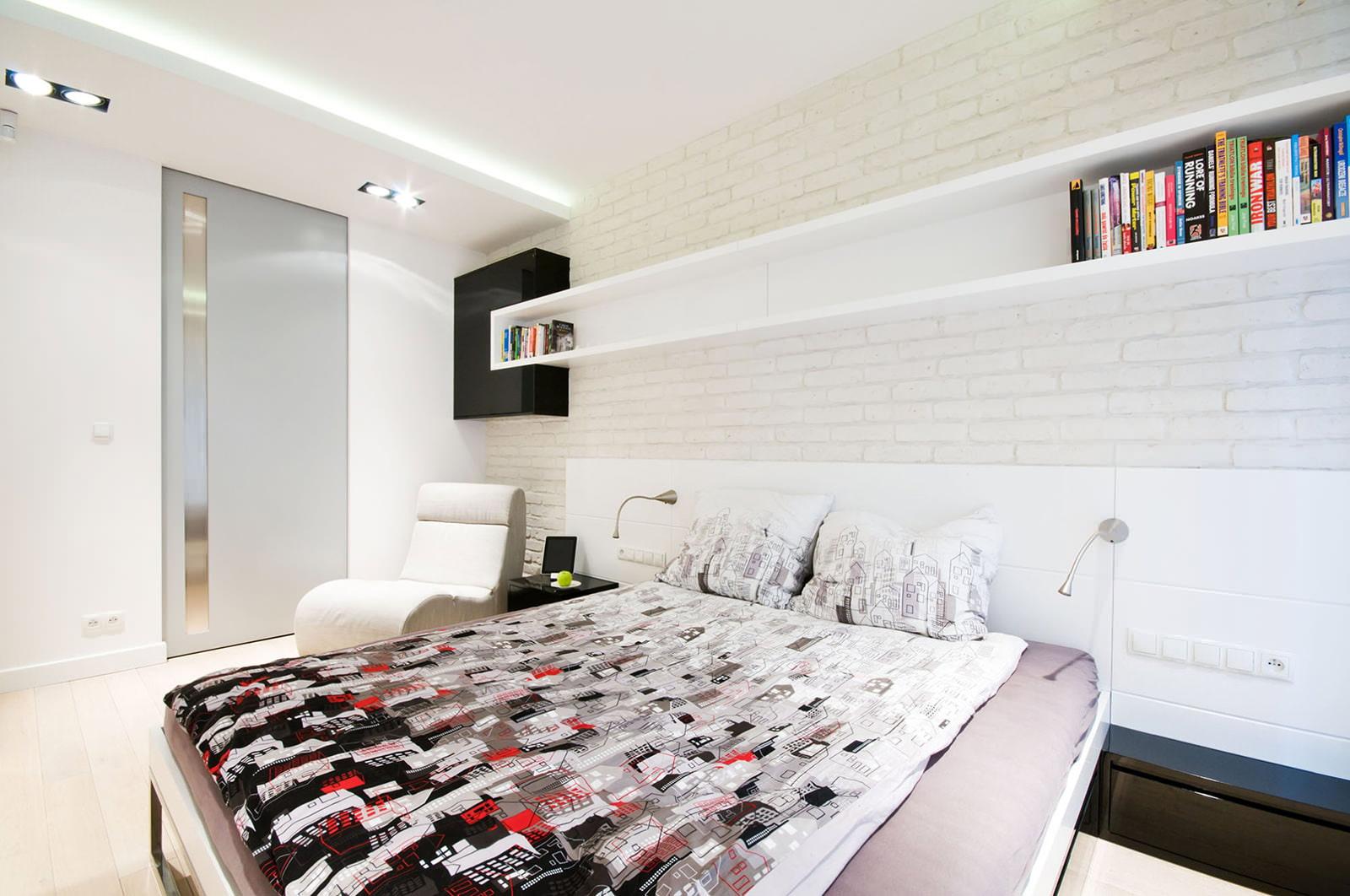 maçonnerie dans la conception d'idées d'appartement