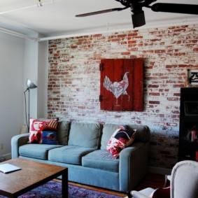 maçonnerie dans les idées de décoration d'appartement