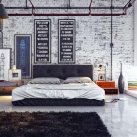 mur de briques dans le salon idées idées