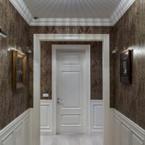 couloir dans le décor de l'appartement