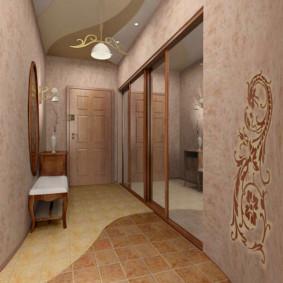 couloir dans la conception des appartements