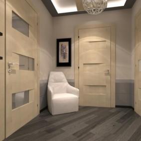 couloir dans l'appartement dizan photo