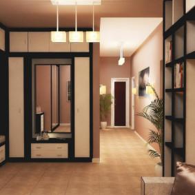 couloir dans la conception de la photo de l'appartement