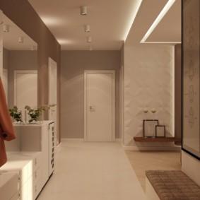 couloir dans les idées de décoration de l'appartement