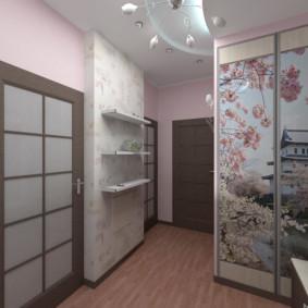 couloir dans les idées de design d'appartement