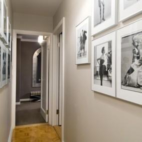couloir à l'intérieur de l'appartement