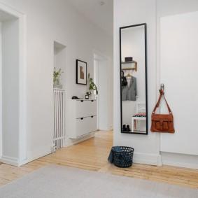 couloir dans la photo intérieure de l'appartement
