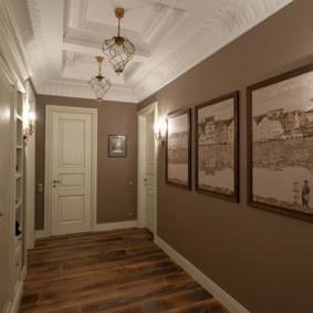 couloir dans les idées d'intérieur de l'appartement