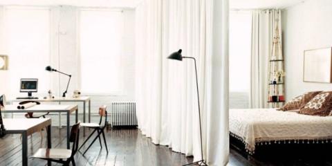 studio avec lit et canapé idées idées