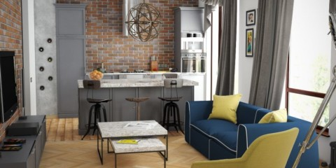 studio de style loft