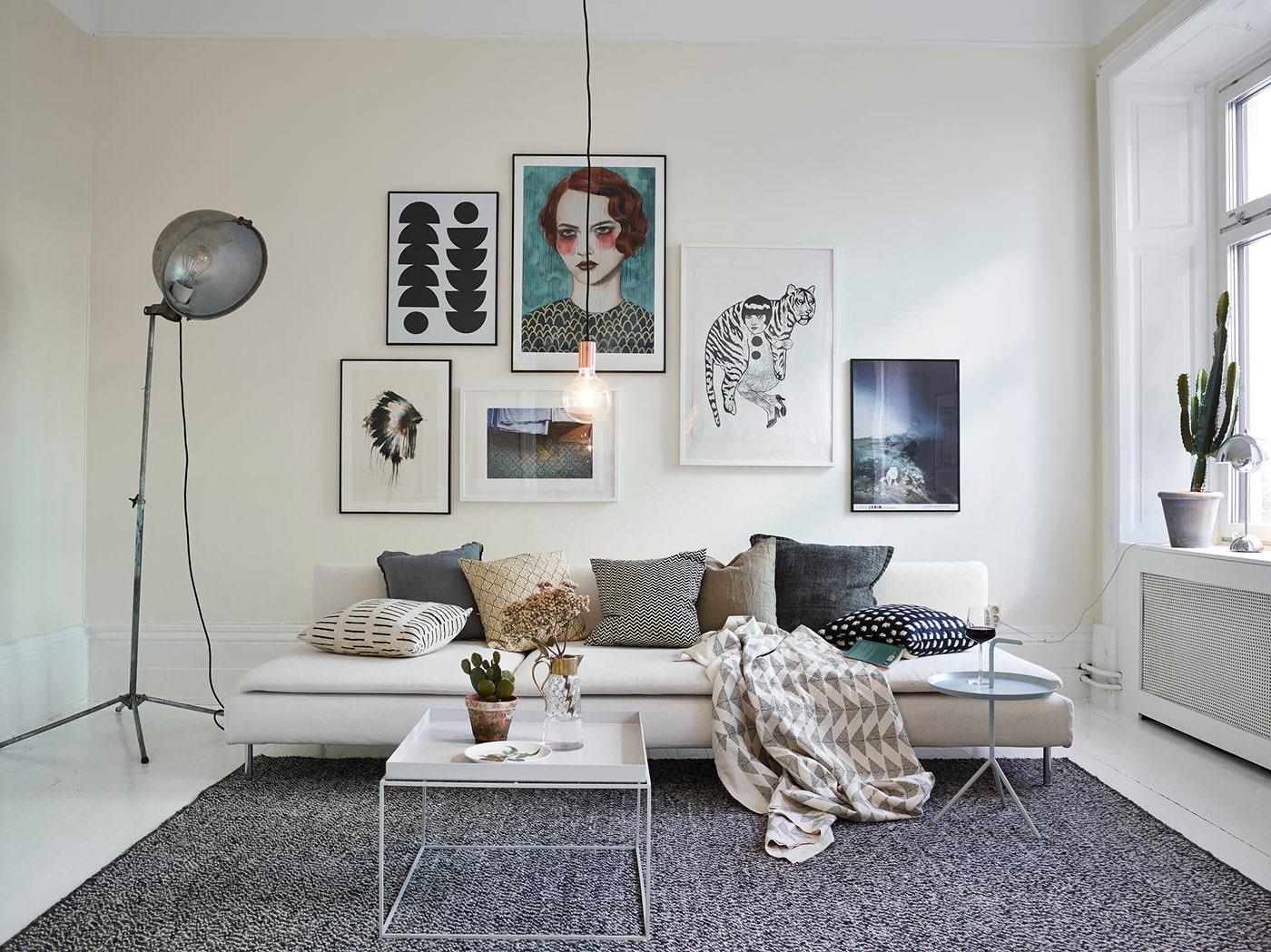 appartement de style scandinave