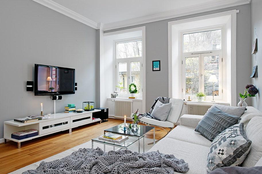 décor d'appartement de style scandinave