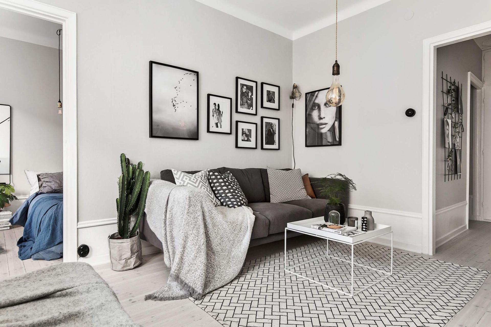 photo de l'appartement de style scandinave