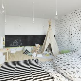 idées de photos d'appartement de style scandinave