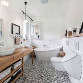 appartement de style scandinave photo intérieur