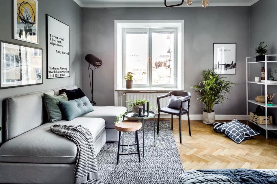 Idées d'appartements de style scandinave vues