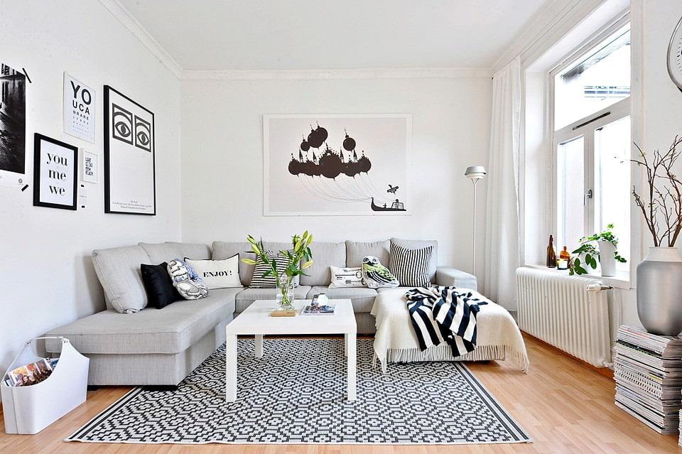 options d'appartement de style scandinave