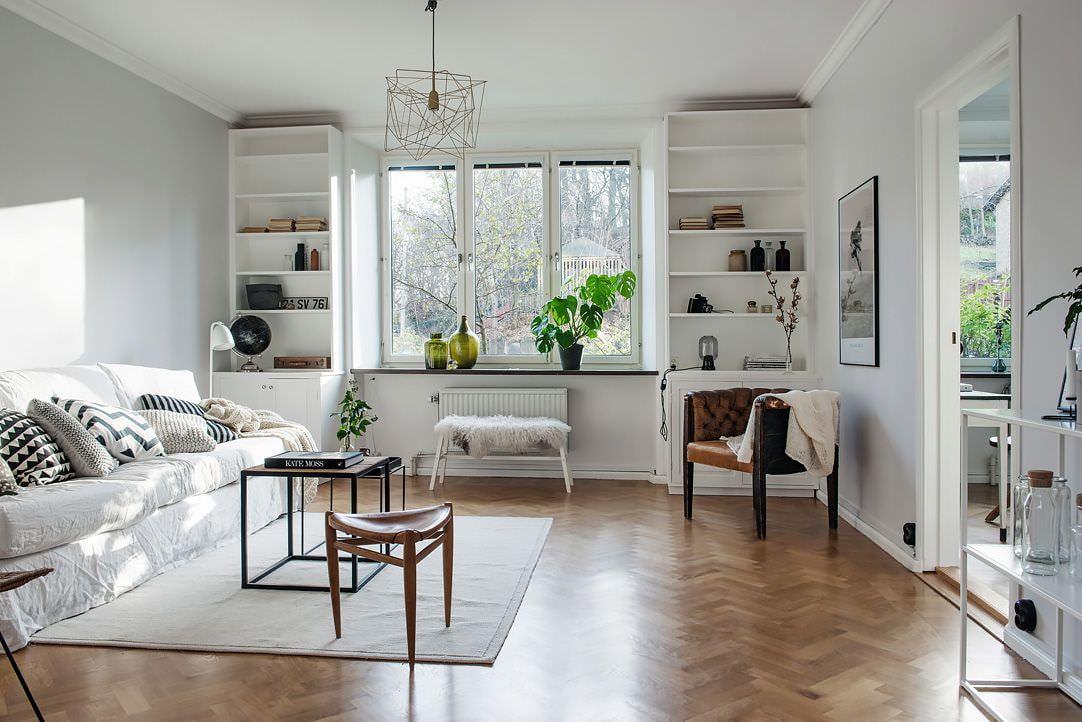 options de photo d'appartement de style scandinave