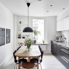 design d'appartement de style scandinave photo