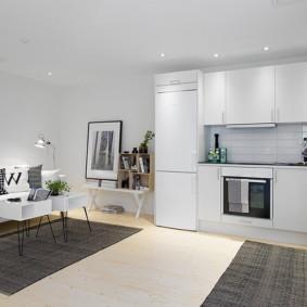 vues de la photo de l'appartement de style scandinave