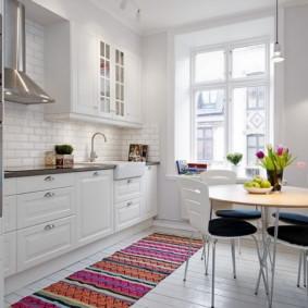 idées de design d'appartement de style scandinave