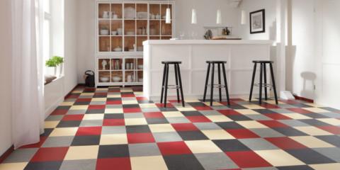 linoleum pentru idei de design de bucătărie