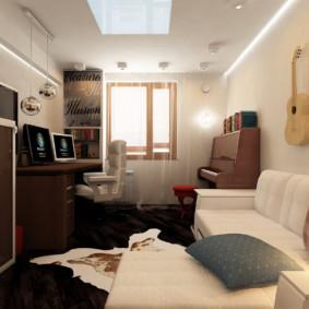 chambre 5 m² design
