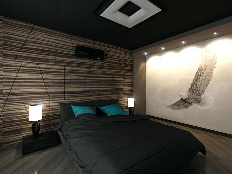 conception de photo de chambre pour hommes