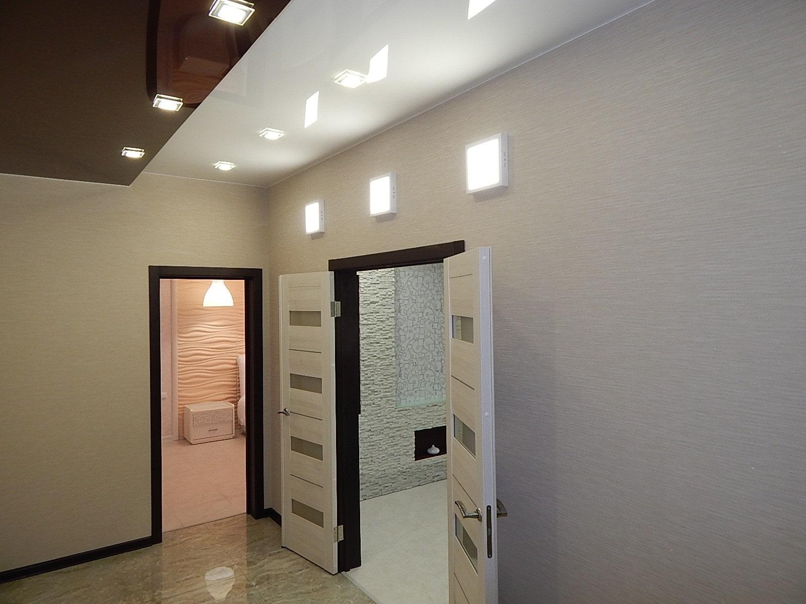 conception de couloir de plafond tendu