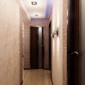 plafond suspendu dans le couloir idées intérieures