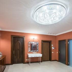 plafond tendu dans le couloir types de décor