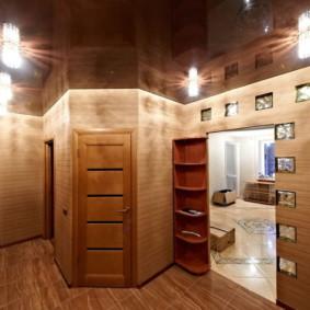 plafond tendu dans le couloir types de photos