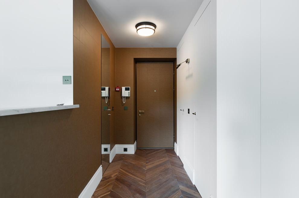 plafond suspendu dans le couloir types d'idées