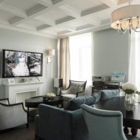 fonds d'écran pour un salon moderne