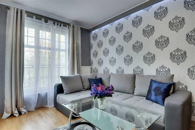 fond d'écran pour photo de décoration de salon moderne