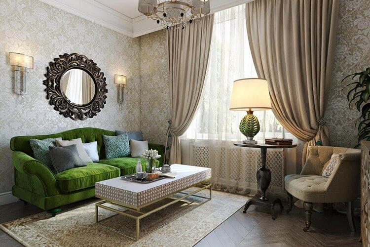 papier peint pour un décor de salon moderne