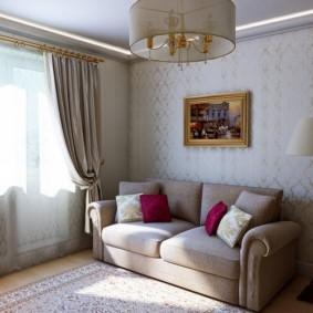 papier peint pour une décoration photo de salon moderne