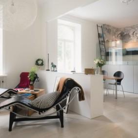 studio dans un style loft