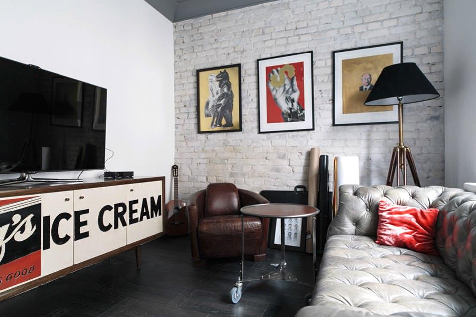 studio dans des idées de photo de style loft