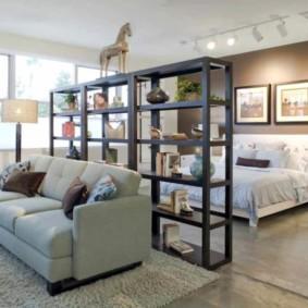 studio dans un intérieur de style loft