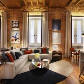 idées de décoration de style loft