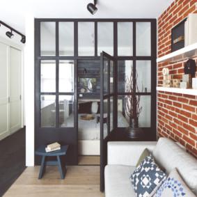 studio en style loft